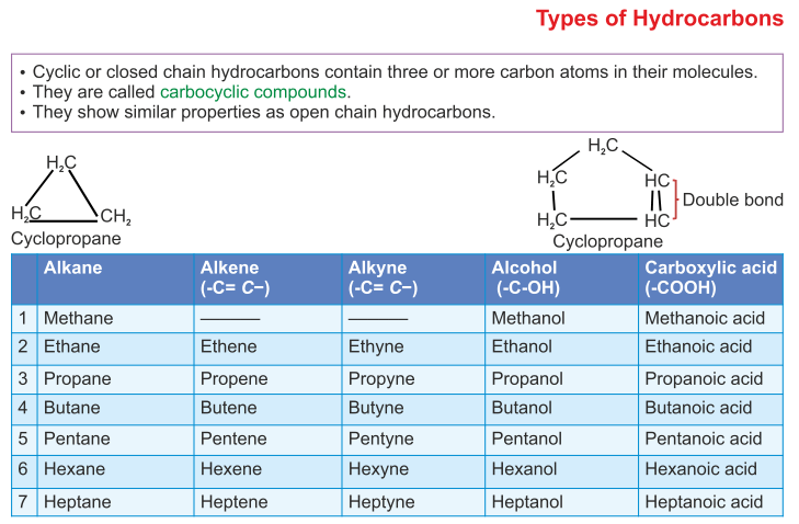 Icse Solutions For Class 10 Chemistry Organic Chemistry