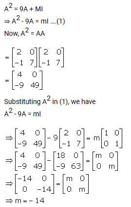 Selina Concise Mathematics Class 10 ICSE Solutions Matrices - A Plus