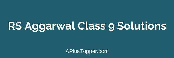 Rs Aggarwal 9th Maths Book Pdf
