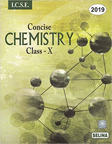 Selina Concise Chemistry Class 10 ICSE Solutions 2019-20 PDF