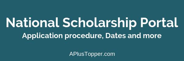 national scholarship portal 2018-19