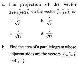 Plus Two Maths Previous Year Question Paper March 2017 Q11