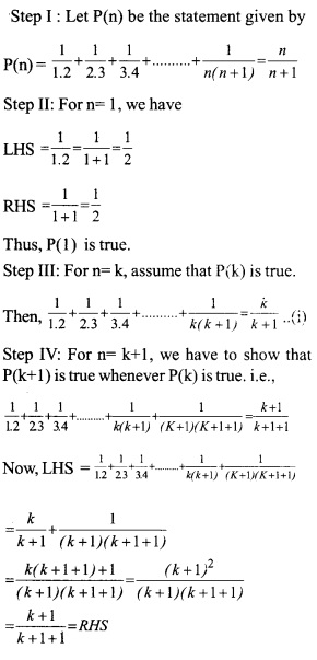 HSSLive Plus One Maths Chapter Wise Questions and Answers Chapter 4 Principle of Mathematical Induction 11