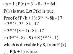 HSSLive Plus One Maths Chapter Wise Questions and Answers Chapter 4 Principle of Mathematical Induction 22