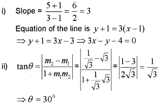 Plus One Maths Chapter Wise Previous Questions Chapter 10 Straight Lines 23