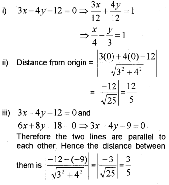 Plus One Maths Chapter Wise Previous Questions Chapter 10 Straight Lines 26