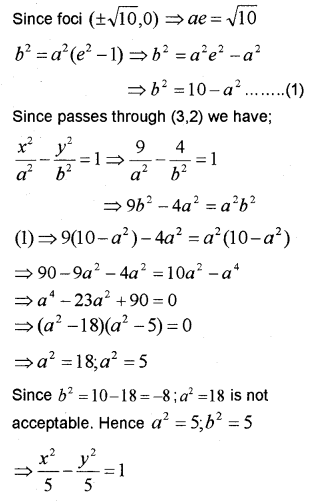 Plus One Maths Chapter Wise Previous Questions Chapter 11 Conic Sections 14