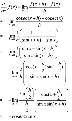 Plus One Maths Chapter Wise Previous Questions Chapter 13 Limits and Derivatives 29