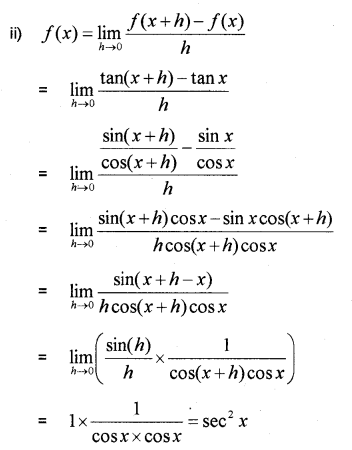Plus One Maths Chapter Wise Previous Questions Chapter 13 Limits and Derivatives 44