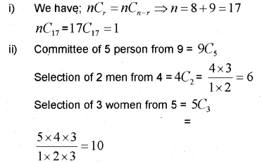 Plus One Maths Chapter Wise Previous Questions Chapter 7 Permutation and Combinations 10