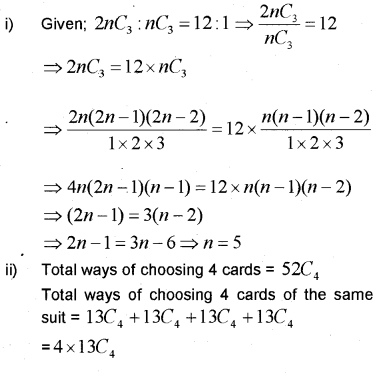 Plus One Maths Chapter Wise Previous Questions Chapter 7 Permutation and Combinations 9