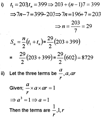 Plus One Maths Chapter Wise Previous Questions Chapter 9 Sequences and Series 24
