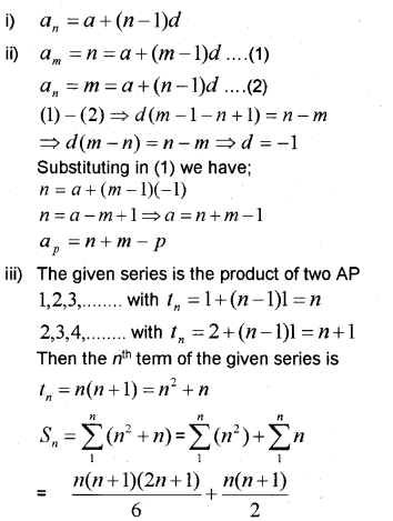 Plus One Maths Chapter Wise Previous Questions Chapter 9 Sequences and Series 26