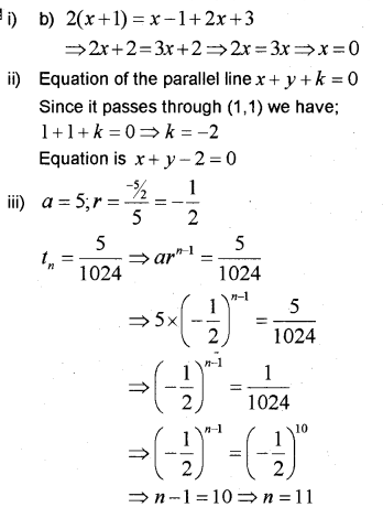Plus One Maths Chapter Wise Previous Questions Chapter 9 Sequences and Series 33