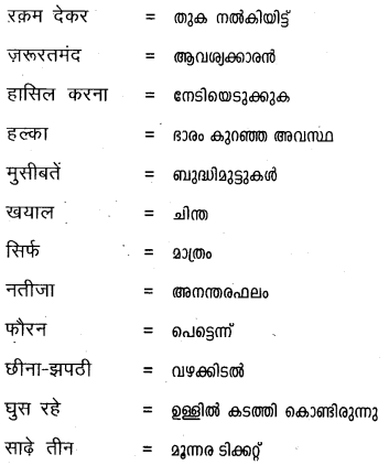 Plus One Hindi Textbook Answers Unit 3 Chapter 9 आनंद की फूलझडियाँ 11