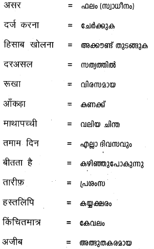 Plus One Hindi Textbook Answers Unit 3 Chapter 9 आनंद की फूलझडियाँ 13