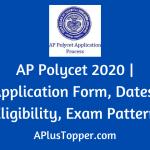 AP Polycet 2020