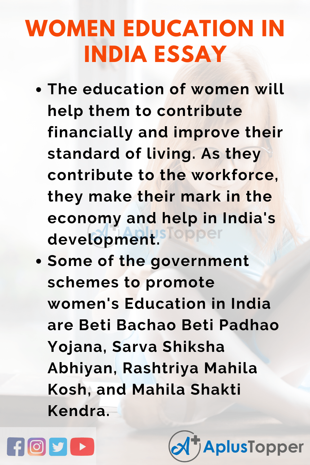 Essay About Women Education in India