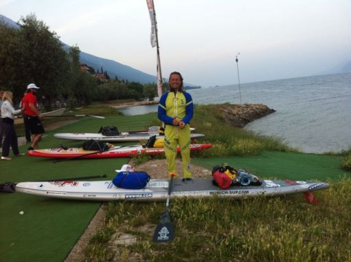 SUP Charity Project Gardasee