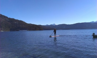 TV Coverage - Winter SUP Walchensee