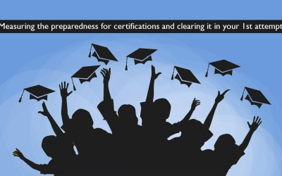 Measuring the preparedness for certifications and clearing it in your 1st attempt