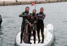 Team Scarpoci - Giacomo Brunetta, David Croselli and Marco Segarich