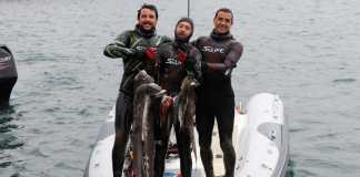 Team Scarpoci - Giacomo Brunetta, David Croselli and Marco Segarich