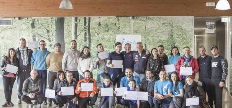 Allenamente: con l'Apnea Team Abruzzo uno stage di Mental training