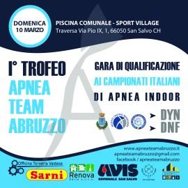 I° Trofeo Apnea Team Abruzzo – 10 Marzo 2019