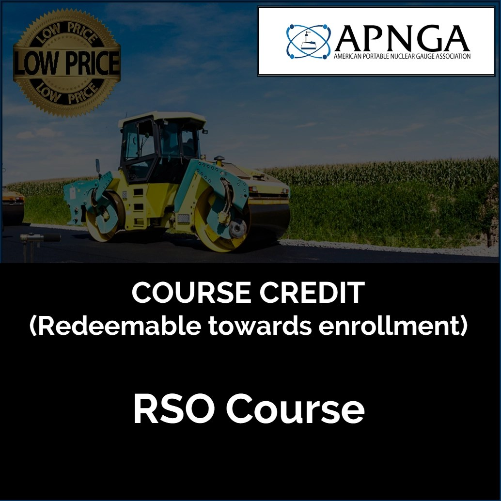 Product Image- RSO Course CREDIT