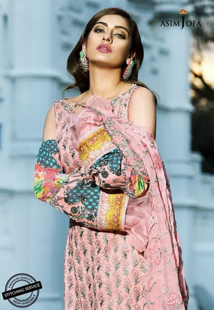 Asim Jofa Luxury Lawn Collection 2018 05Bim