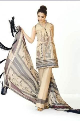 Zarqash Designer Lawn 2018 04B