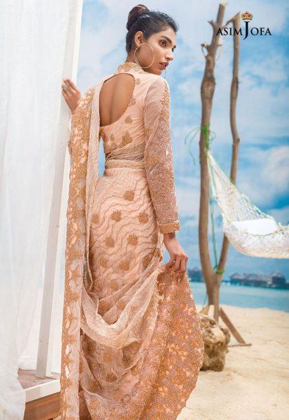 Asim Jofa Luxury Chiffon Eid Collection 2018 06B
