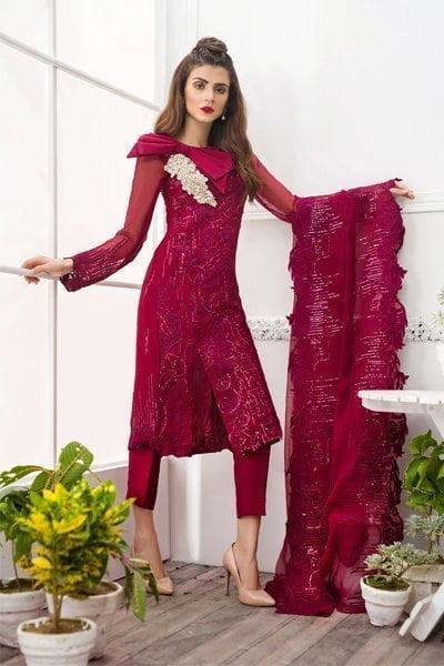 Asifa & Nabeel Luxury Collection 2018 06