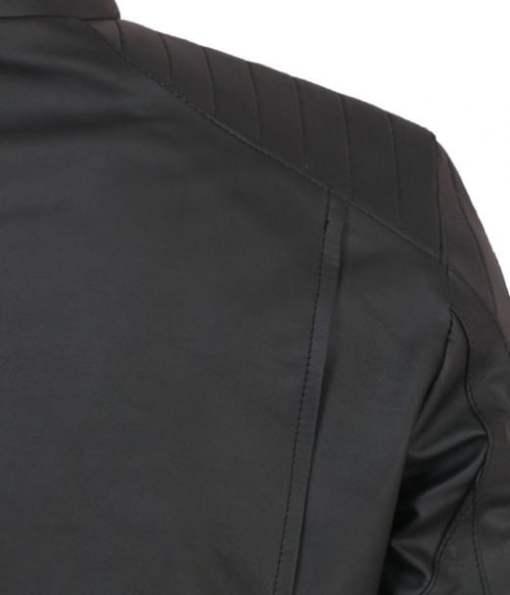 The Bat Man Beyond Black Mens Faux Leather Jacket DMLJ-39