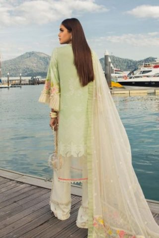 Sana Safinaz Luxury Lawn Unstitched 3 Piece Suit SSLL20-001B Lawn Collection