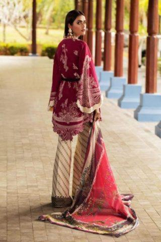 Sana Safinaz Luxury Lawn Unstitched 3 Piece Suit SSLL20-016A Lawn Collection