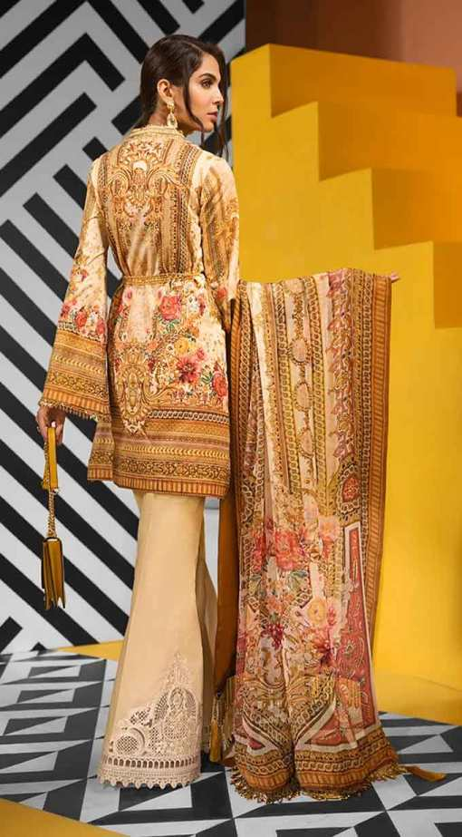 Viva by Anaya Embroidered Lawn Unstitched 3 Piece Suit AVL20-10-B – Summer Collection