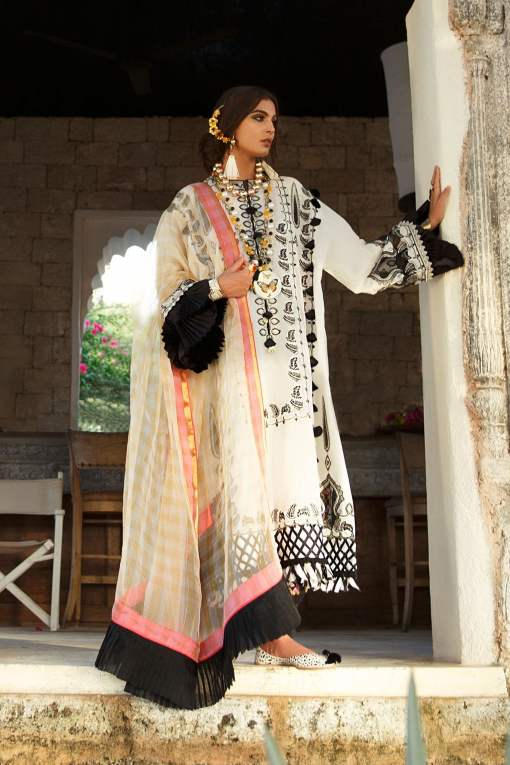 Elan Luxury Lawn Unstitched 3 Piece Suit ELL20 15 A JOHARI – Lawn Collection