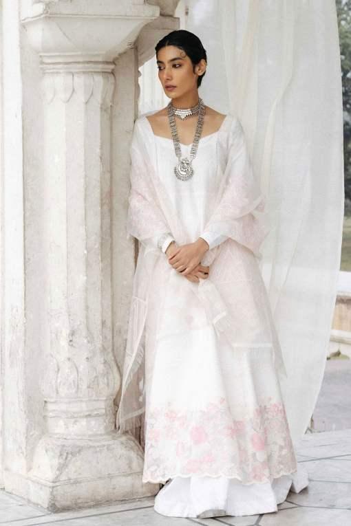 Zara Shahjahan Luxury Embroidered Lawn Unstitched 3 Piece Suit ZSL20 MEHRUNISA-B – Summer Collection