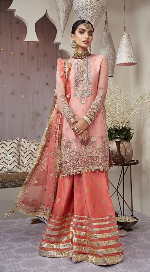 Nargis by Anaya Embroidered Chiffon Unstitched 3 Piece Suit AKCNC20 04 Aryana - Wedding Collection