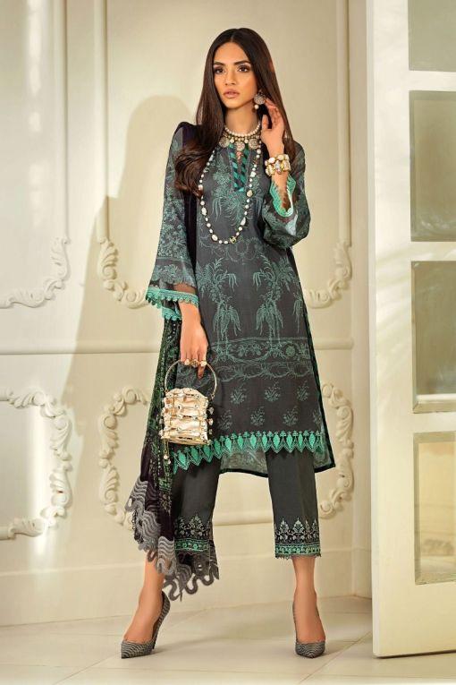 Muzlin by Sana Safinaz Linen Unstitched 3 Piece Suit MWSS20 05B – Winter Collection