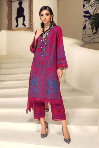 Muzlin by Sana Safinaz Wool Unstitched 3 Piece Suit MWSS20 15B - Winter Collection