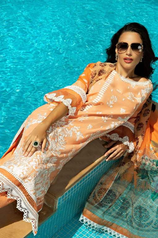 Sobia Nazir Karandi Unstitched 3 Piece Suit SNWC20 02A – Winter Collection