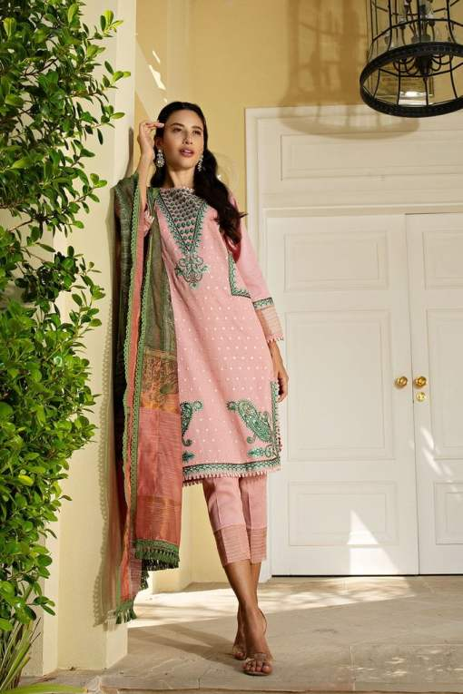 Sobia Nazir Khaddar Unstitched 3 Piece Suit SNWC20 04B – Winter Collection