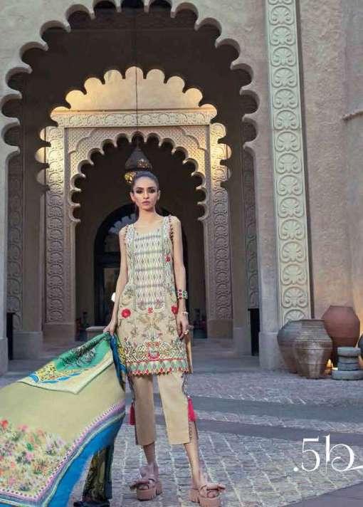 Teena Durrani Fomals Embroidered Silk 2017 05B