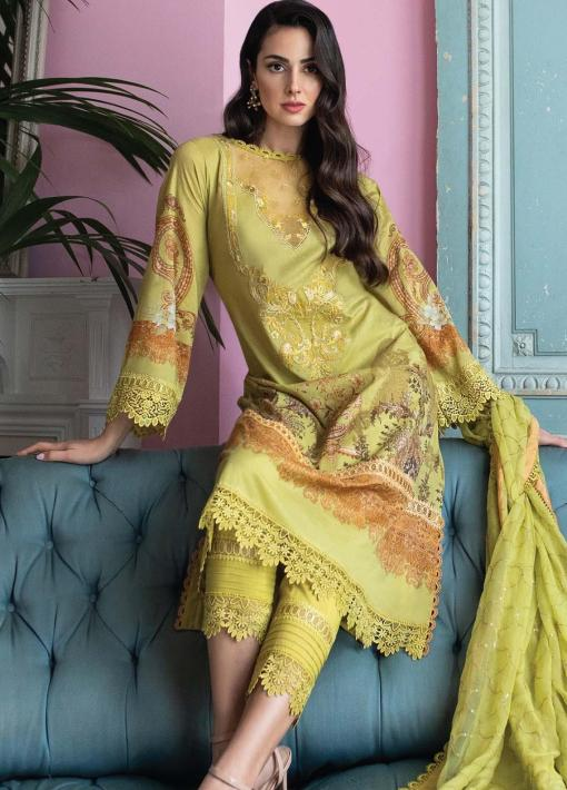 Vital by Sobia Nazir Embroidered Lawn Unstitched 3 Piece Suit 12B – Summer Collection