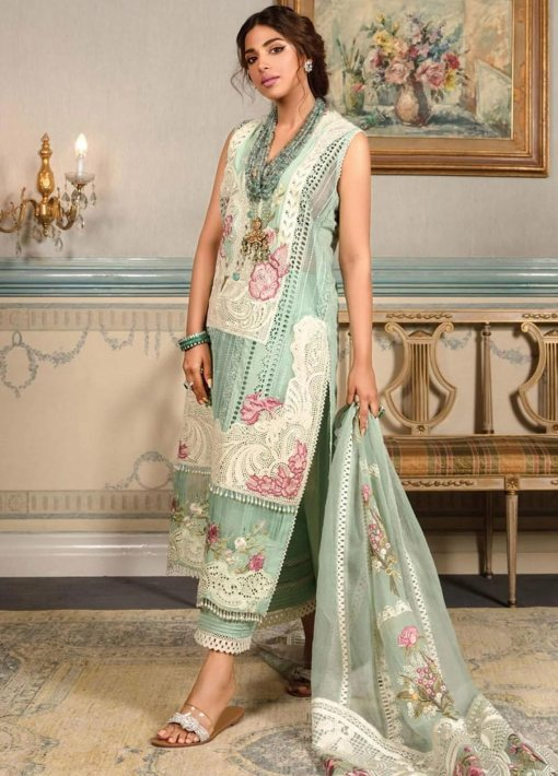 Crimson by Saira Shakira Embroidered Lawn Unstitched 3 Piece Suit D1B MAYA – Luxury Collection