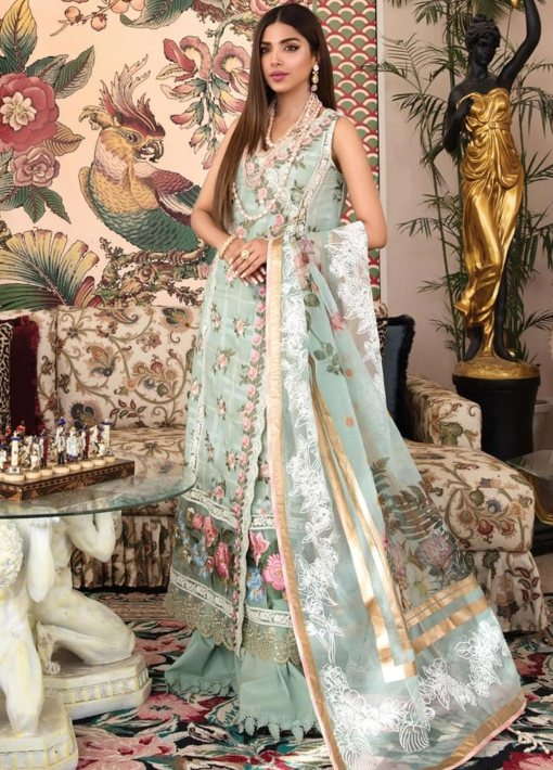 Crimson by Saira Shakira Embroidered Lawn Unstitched 3 Piece Suit 7A JADE – Luxury Collection
