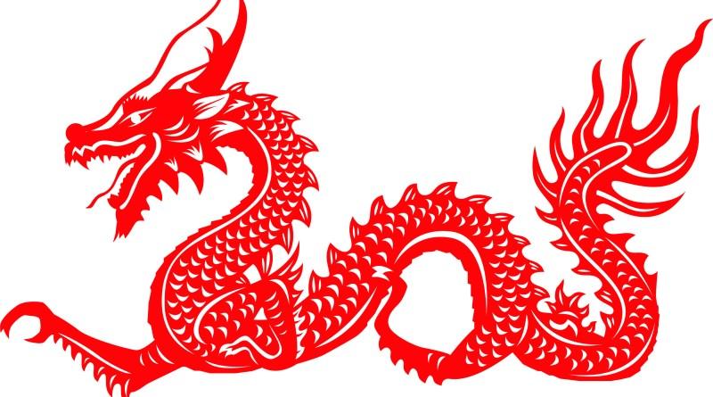 Chinesisches Horoskop, chinesischer roter Drache